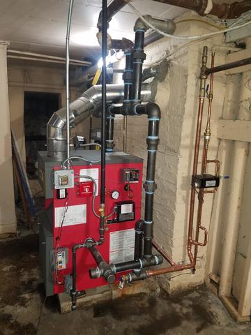Crown Steam Boiler Replacement, Bloomfield, NJ