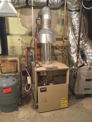 Hot Water Boiler Install in Kenilworth, NJ
