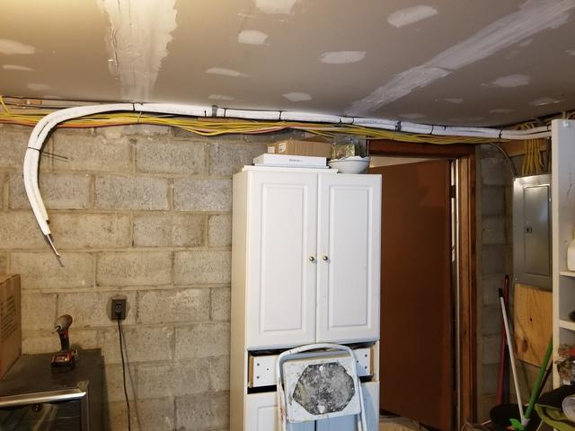 Mitsubishi Ductless Mini-Split Install in Raritan, NJ - Before Photo
