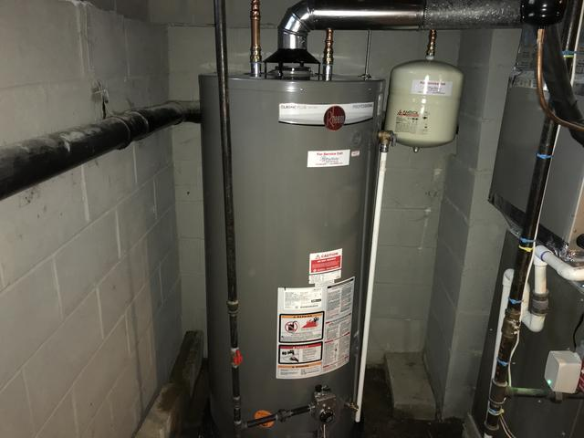 Rheem Hot Water Heater Installation in Mount Arlington, New Jersey