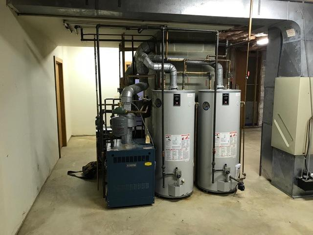 NTI Boiler Installation in Mendham, New Jersey - Before Photo