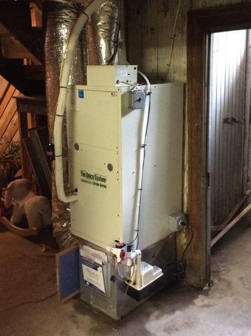 Air Handler replacement in Summit, NJ.