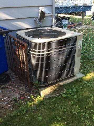AC Condenser Replacement in Parsippany, NJ.