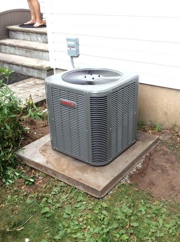 AC Condenser Replacement in South Plainfield, NJ.