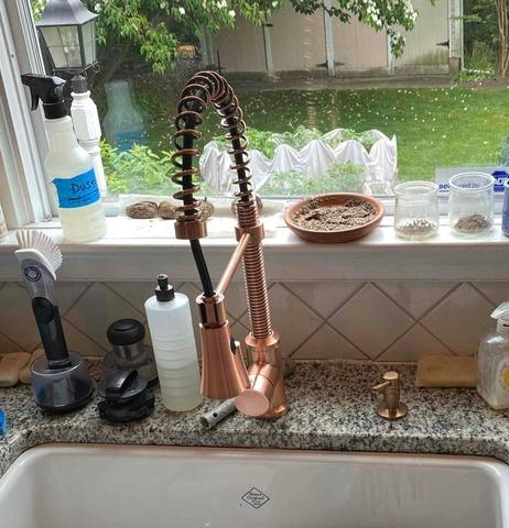 Kitchen Faucet replacement in Short Hills, NJ.