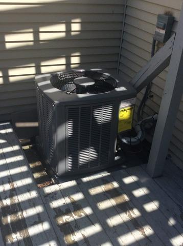 Condenser Replacement in Bridgewater, NJ. - After Photo