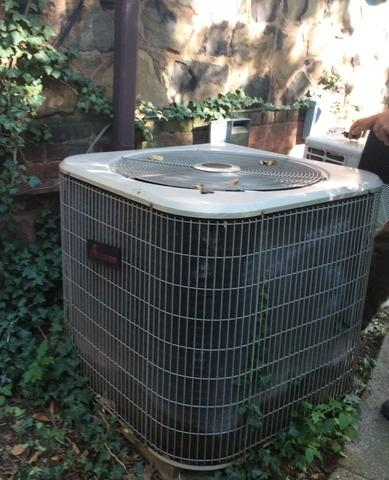 Condenser Replacement in Millburn, NJ.