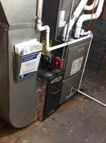 Furnace Replacement in Summit, NJ.