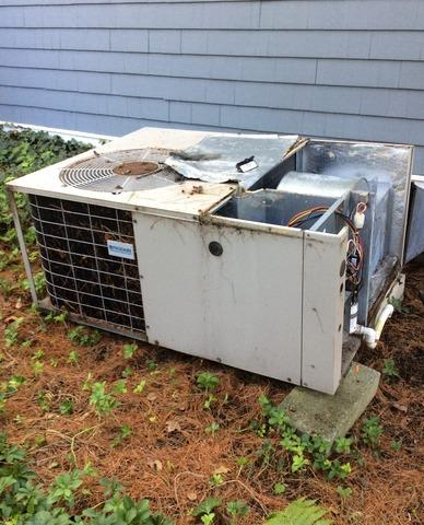 A/C Replacement in Mendham, NJ.