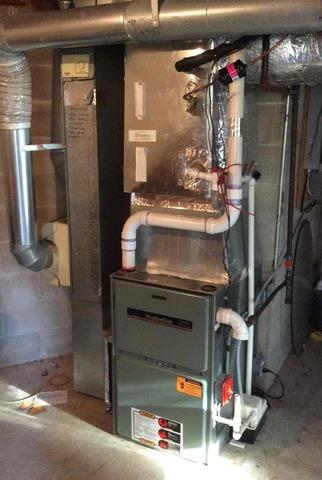Furnace Replacement in Ho-Ho-Kus, NJ - Before Photo