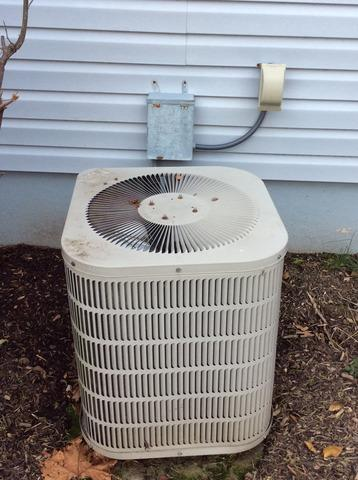 Condenser Replacement in Chatham, NJ.