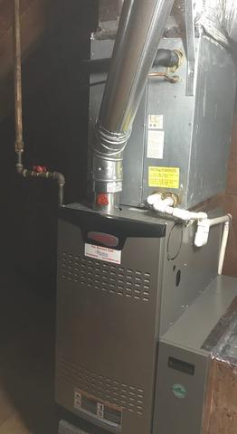 Furnace Replacement in Bridgewater, NJ - After Photo