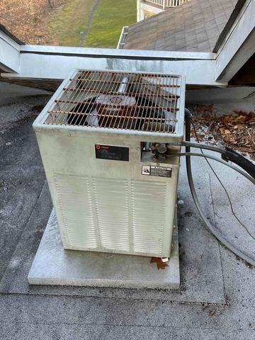 Air Conditioner replacement in Bridgewater, NJ - Before Photo