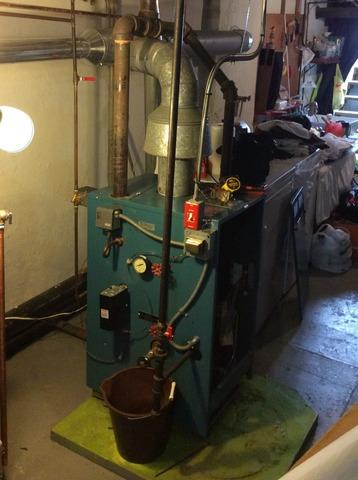 Boiler Replacement in Bound Brook, NJ - Before Photo