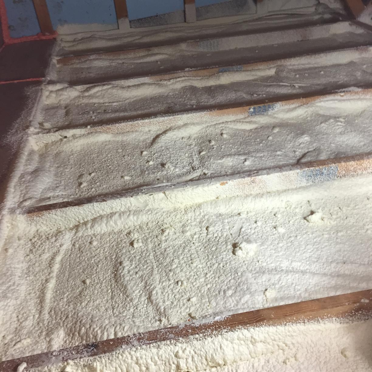Tongue and groove ceiling to spray foam insulation, Bradford Woods, PA - After Photo