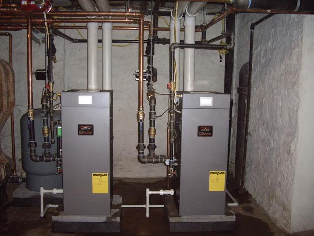 Gas boiler installation in Sewickley, PA