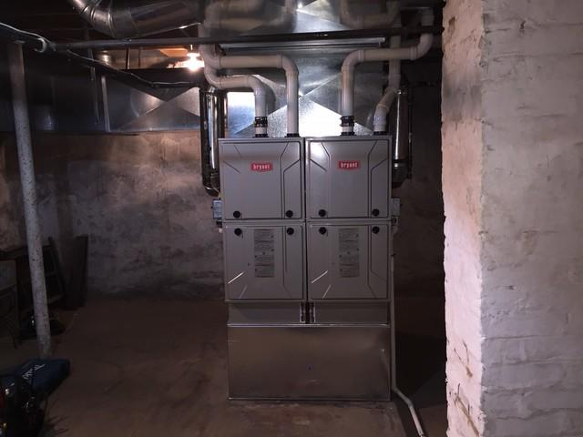 Dual Furnace Replacement, Sewickley, PA
