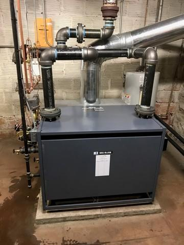 Steam Boiler Replacement - Pittsburgh PA 15202