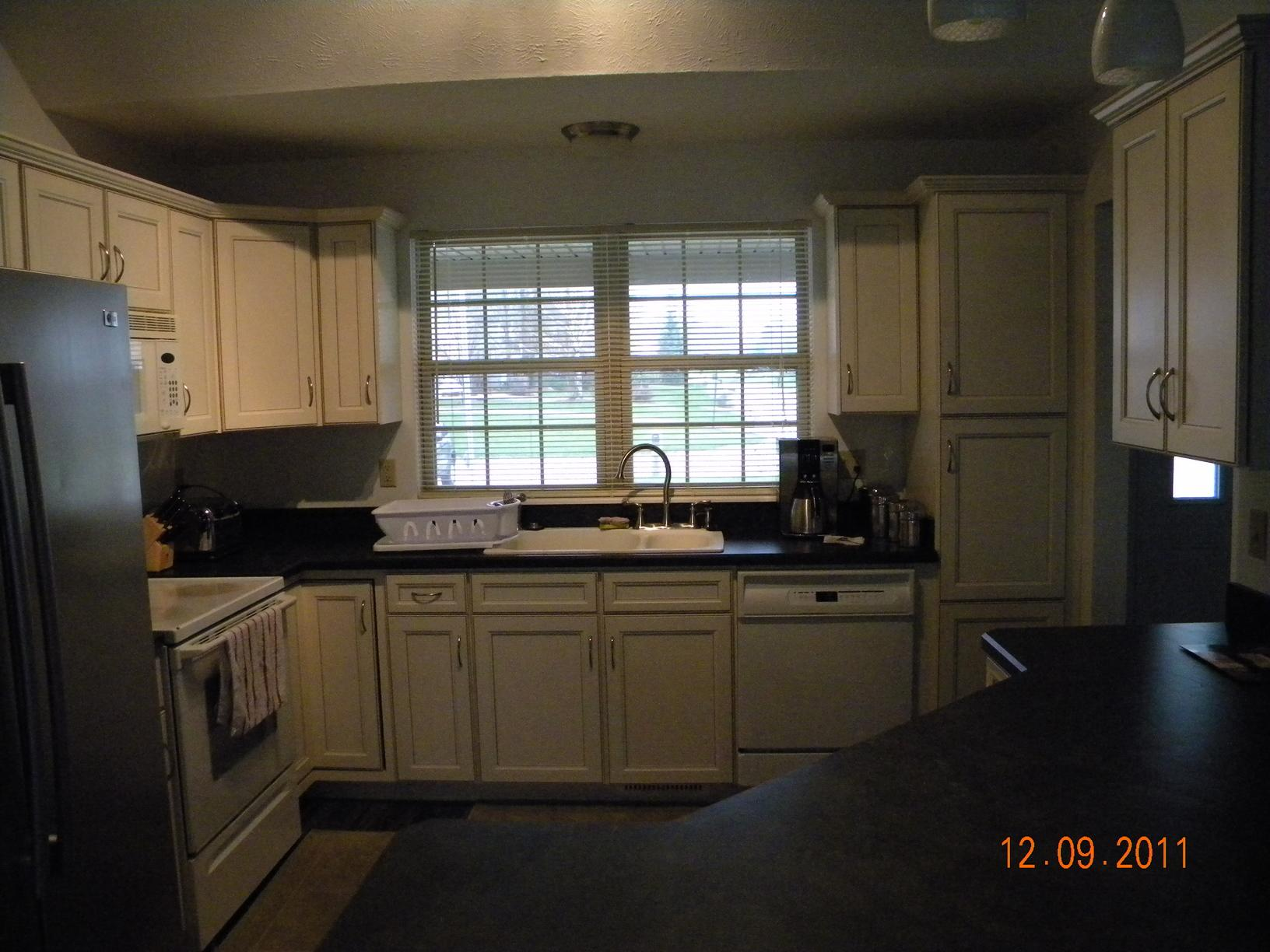 Kitchen before and after in Painesville Twp. - After Photo