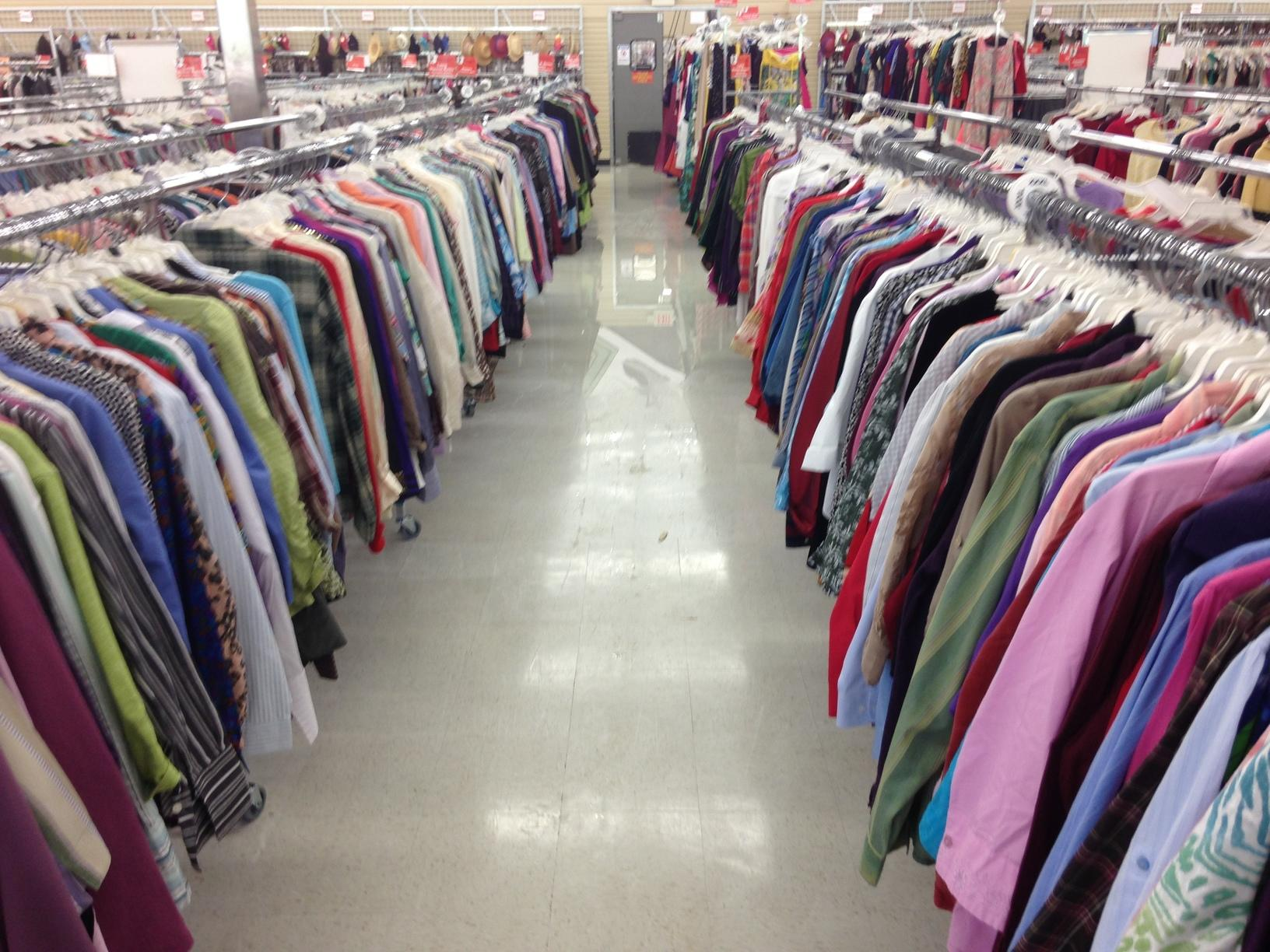 Commercial water damage repair in Eastlake, OH thrift store - After Photo