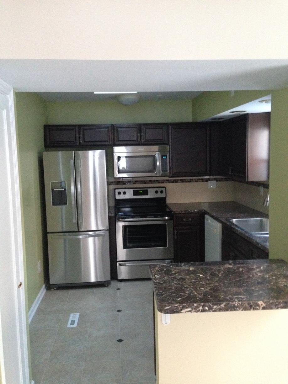 Kitchen Remodel After Damage in Cleveland - After Photo