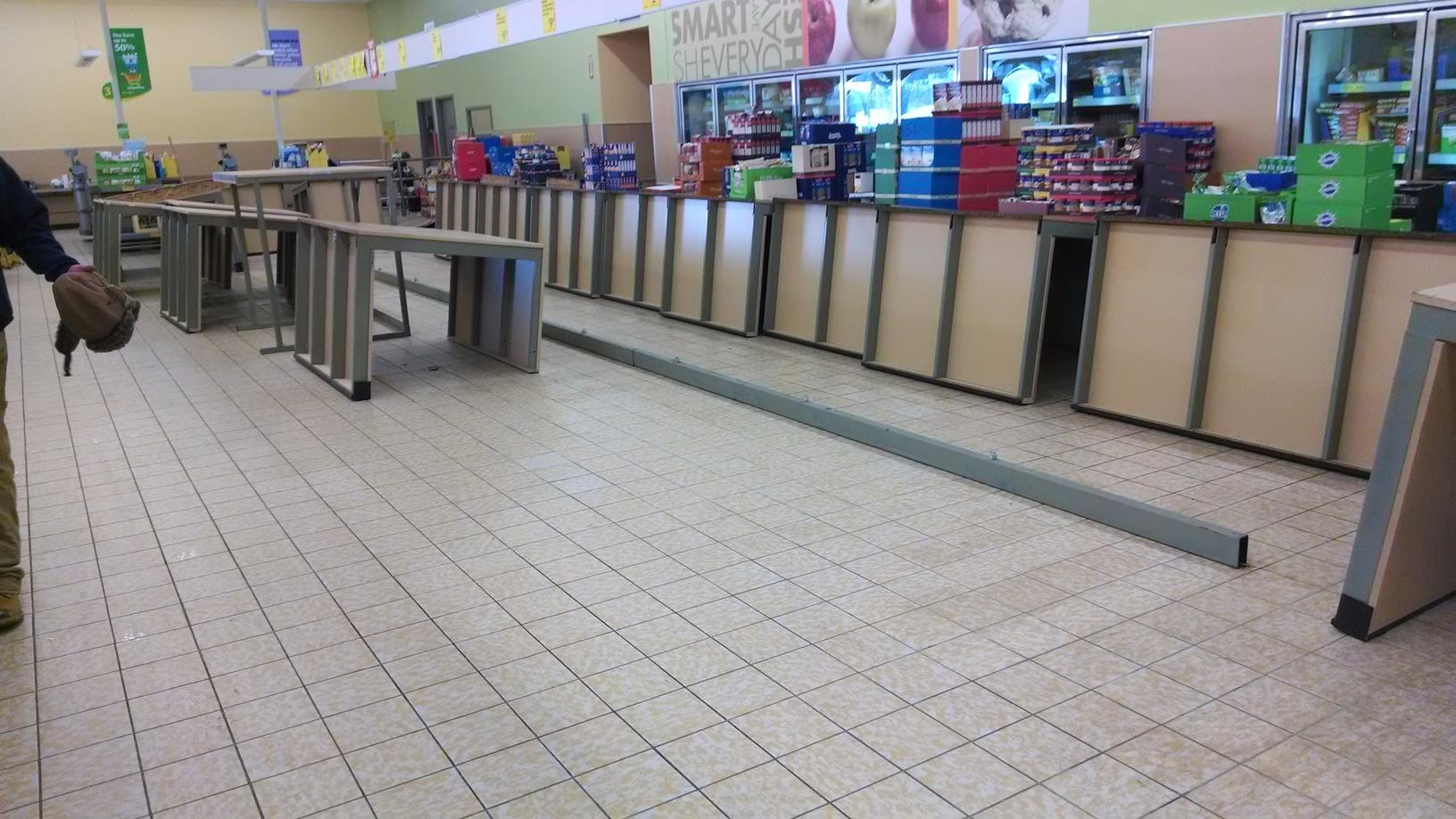 Aldi's Grocery Store Water Damage Emergency Service - After Photo