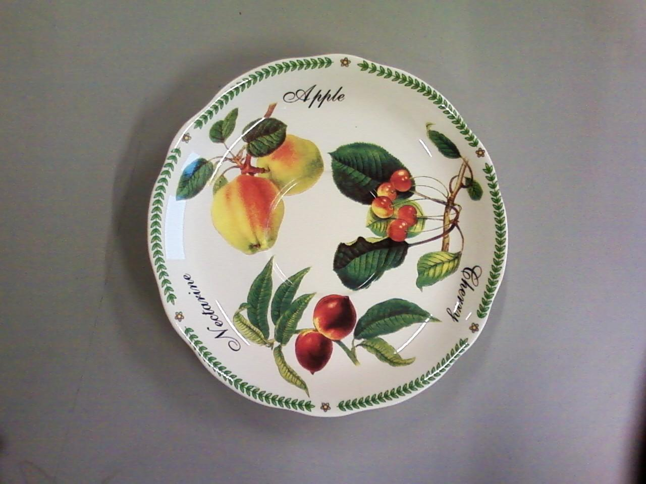 Painted bowl restored after sustaining fire damage - After Photo