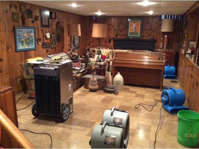 Water damage repair Shaker Heights, Ohio - After Photo