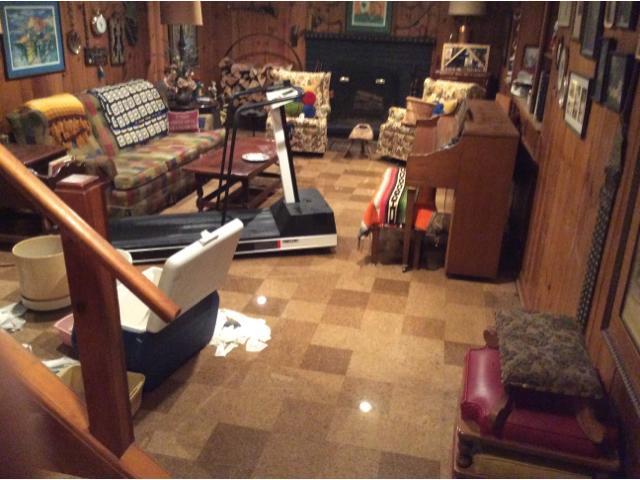 Water damage repair Shaker Heights, Ohio - Before Photo