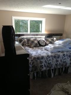 Bedroom fire damage restoration