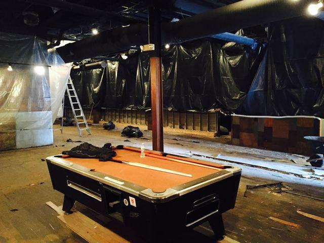Night Club Before and After Commercial Water Loss in Cleveland, OH - Before Photo