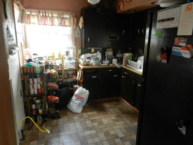 Kitchen Remodel After Damage in Cleveland - Before Photo