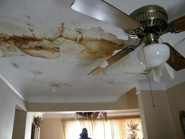 Ceiling water damage repair in South Euclid, OH