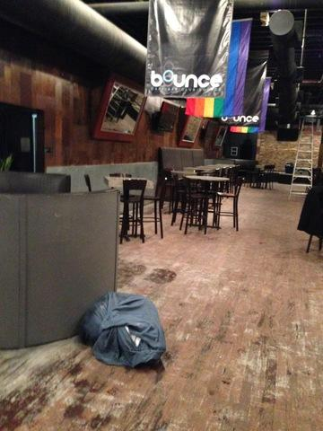 Night Club before and after water damage and reconstruction in Cleveland, OH - Before Photo
