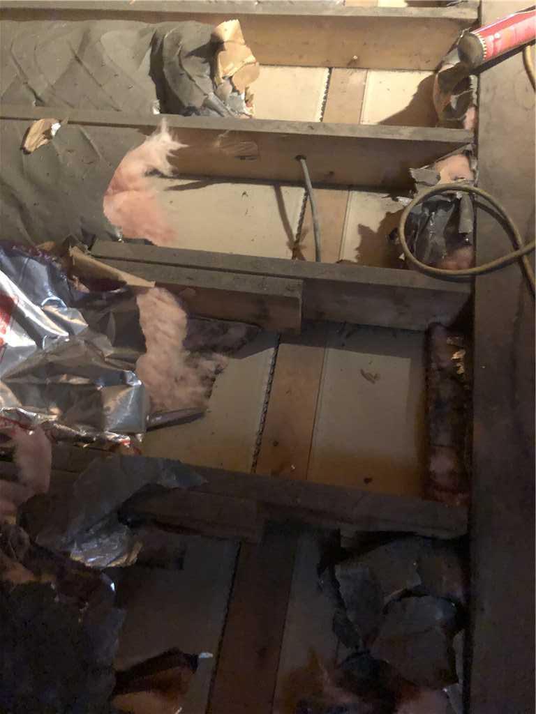 Binghamton NY - Top Plate Sealing - Before Photo