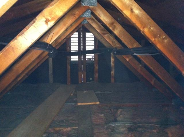 Spray Foam Installed In A Poorly Insulated Attic in Kirkwood, NY