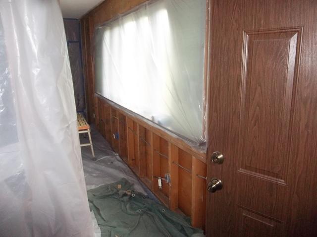 Spray Foam Insulation in Exterior Walls