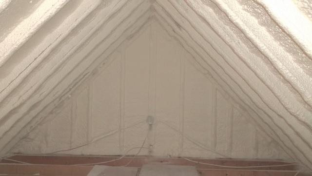 Spray Foam Insulation in Attic, Smithville Flats, NY