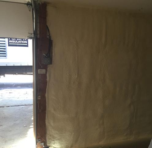 Uninsulated Garage Wall in Berkshire, NY