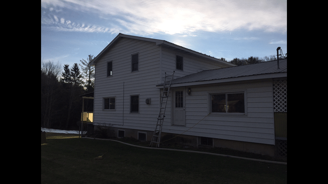 TruSoft Insulation Installed in Exterior Walls in Montrose, PA