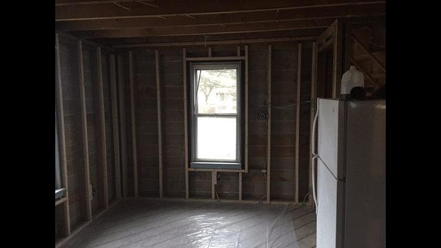 Exterior Walls Insulated with Spray Foam Insulation in Endicott, NY