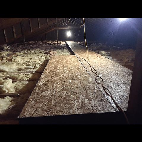 Owego, NY Storage Deck in Attic