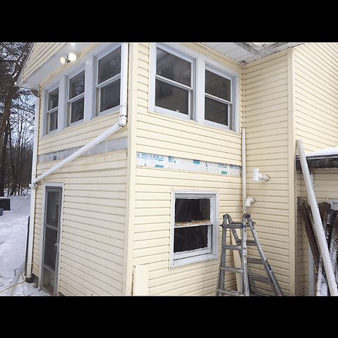 Johnson City, NY Insulating an Exterior Wall with TruSoft Insulation
