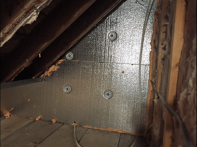 Binghamton, NY Air Sealing and Insulating an Attic