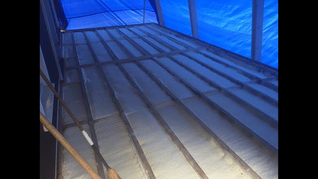 Brackney, PA Spray Foaming an Outdoor Deck