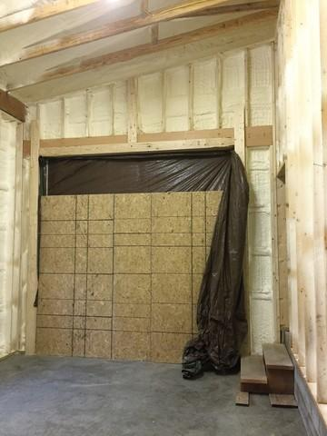 Kingsley, PA New Construction Building Insulated with Spray Foam