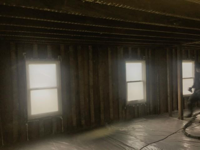 Harpursville, NY Spray Foaming Interior Walls