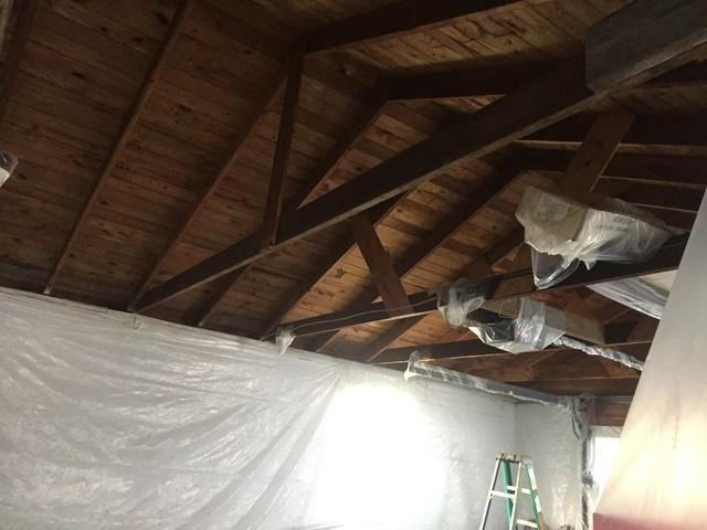 Harpursville, NY Spray Foaming a Garage Ceiling