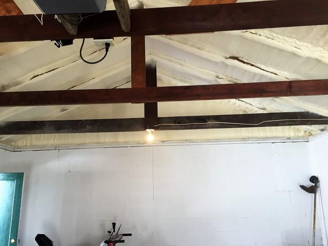 Harpursville, NY Uninsulated Garage Ceiling