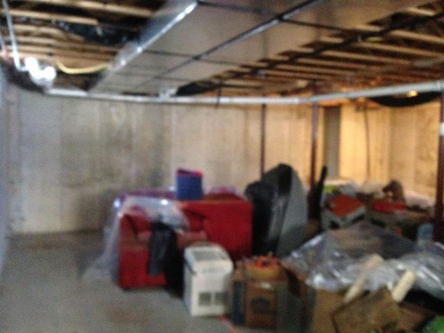 Basement Insulation with Closed Cell Spray Foam in Maine, NY